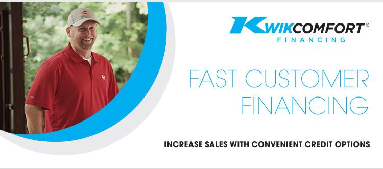 Kwik Comfort Contractor Financing