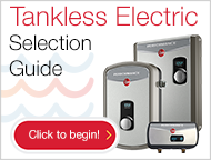 Rheem Tankless Electric Sizing Chart